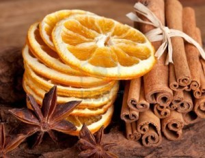 orange and cinnamon